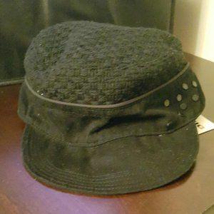 BNWT DIESEL black ladies fashion hat